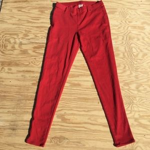 Faded Glory Red Jeans Girls